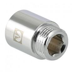 """Удлинитель хромированный 1/2"""" - 20mm, VALTEC"""