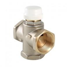 """3-х ходовой термостатический клапан, VALTEC, G1""""-внутр. резьба, Kvs-2.7, (с боковым смешиванием, с полным перекрытием)"""