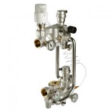 Насосно смесительный узел VALTEC с термоголовкой, 180 mm (combi)